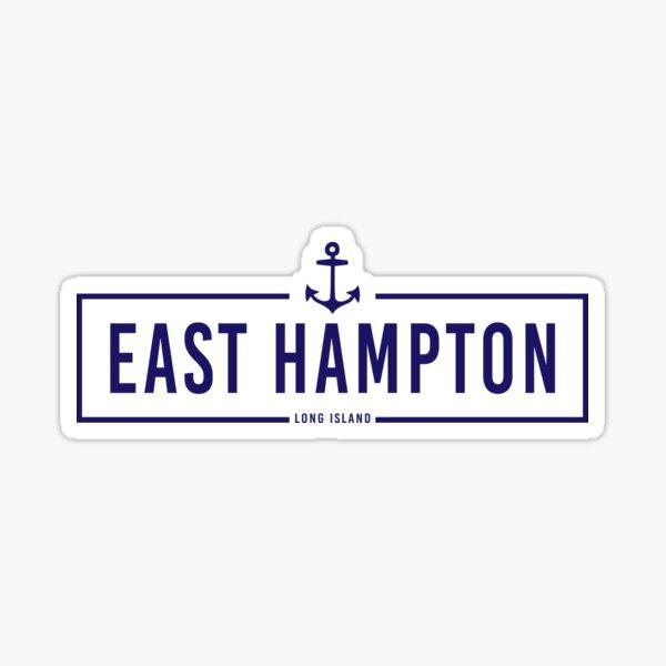 Hipster East Hampton  Sticker