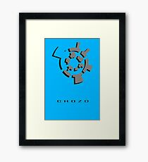 Chozo Artifact of Chozo - 3D Minimalist Framed Print