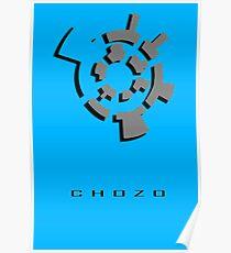 Chozo Artifact of Chozo - 3D Minimalist Poster