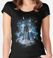 exterminate storm Women's Fitted Scoop T-Shirt