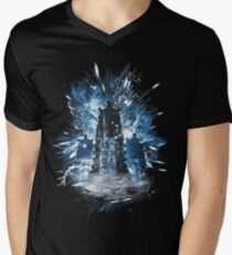 exterminate storm Men's V-Neck T-Shirt