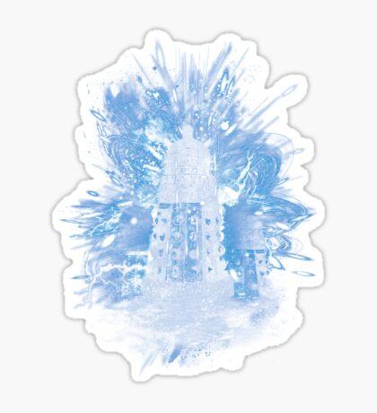 exterminate storm Sticker