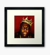 notorious big Framed Print