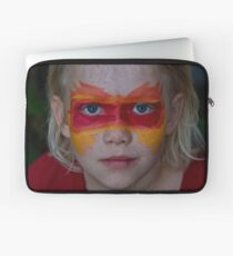 The Face of Fire Laptop Sleeve