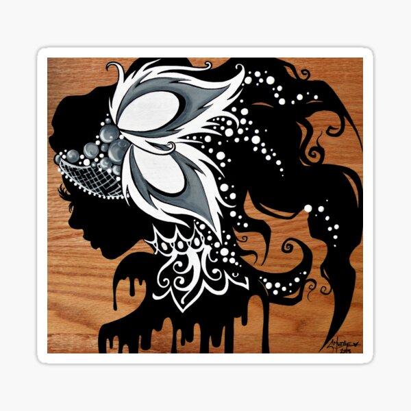 Alabaster Ash - Painting  Sticker