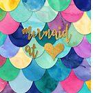 Meerjungfrau im Herzen von Abigail Vigh