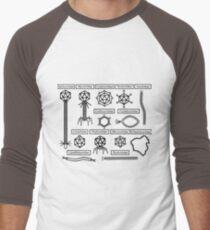 Bacteriophage families Men's Baseball ¾ T-Shirt