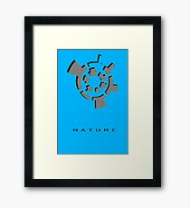 Chozo Artifact of Nature - 3D Minimalist Framed Print