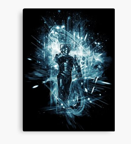cyber storm Canvas Print