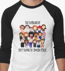 Patriarchy, SMASH Men's Baseball ¾ T-Shirt
