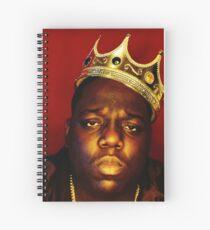 notorious big Spiral Notebook