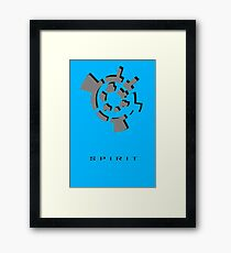 Chozo Artifact of Spirit - 3D Minimalist Framed Print