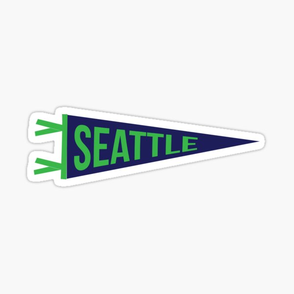 Seattle Pennant Sticker