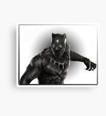 Super heroes Black Panther Canvas Print