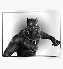 Super heroes Black Panther Poster