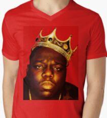 notorious big Men's V-Neck T-Shirt