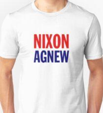 Nixon & Agnew - 1968 Campaign Unisex T-Shirt