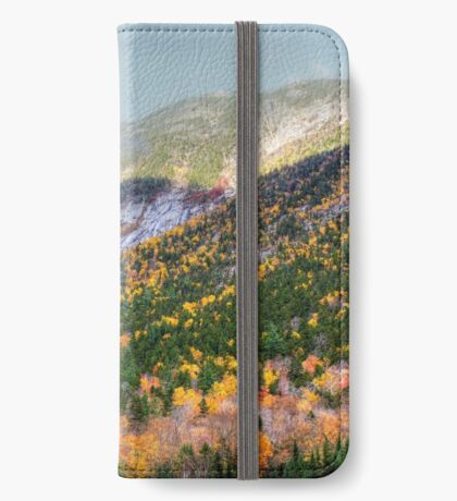 Mountain In the Mist iPhone Wallet
