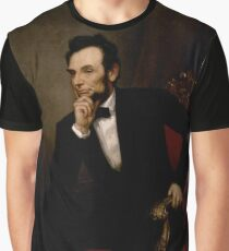 ABRAHAM LINCOLN PRESIDENTIAL PORTRAIT Graphic T-Shirt