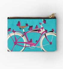 Butterfly Bicycle Studio Pouch