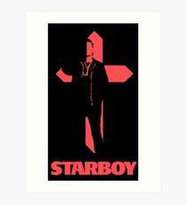 Starboy Cross Art Print