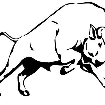 Bison by Tigerlibres