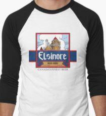 """""""Elsinore Beer"""" - as seen on """"Strange Brew"""" Men's Baseball ¾ T-Shirt"""