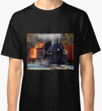 The Rail Yard  -  Steam Train Classic T-Shirt