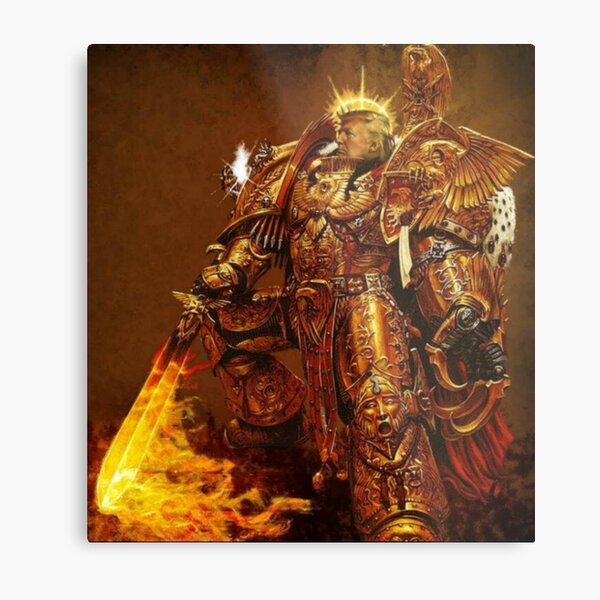 God Emperor Trump Metal Print