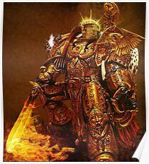 God Emperor Trump Poster