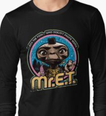 Mr. E.T. - 80s Retro Vintage Mash-Up T-Shirt