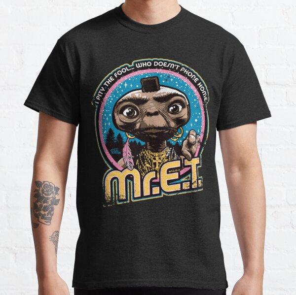 Mr. E.T. - 80s Retro Vintage Mash-Up Classic T-Shirt