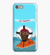 Lil Yachty in ocean Lil Boat iPhone Case/Skin