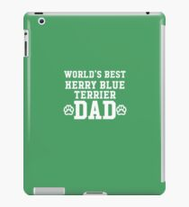 World's Best Kerry Blue Terrier Dad iPad Case/Skin