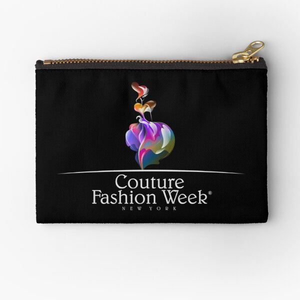 Couture Fashion Week New York Fantasy Zipper Pouch