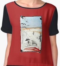 Fear and Loathing in LV Chiffon Top