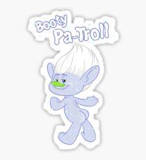 Pegatina Trolls Guy Diamond: Booty Pa-Troll