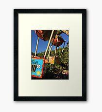 Fliks Flyers Framed Print