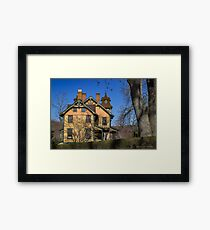 Old House In Main Street Historic District | Cold Spring Harbor, New York Framed Print