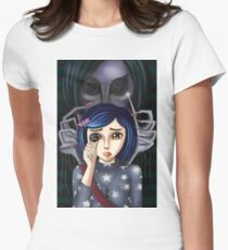 Coraline and the secret door Women's Fitted T-Shirt