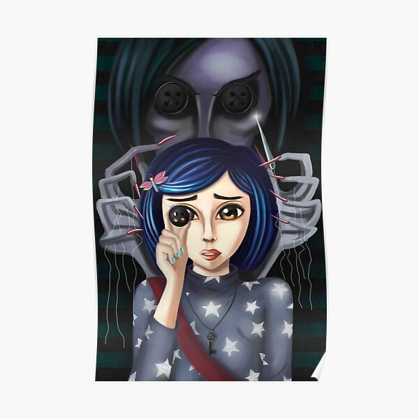 Coraline Posters Redbubble