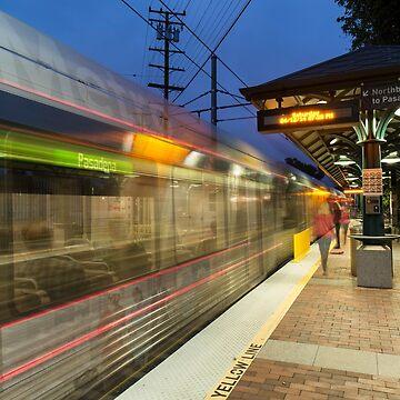 Northbound To Pasadena by MCHerdering