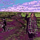 Stand with Standing Rock - Violet Version by thewindrow