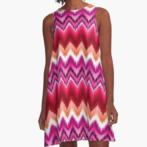 Missoni nach Hause A-Linien Kleid