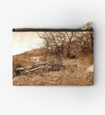 Sepia Landscape Studio Pouch