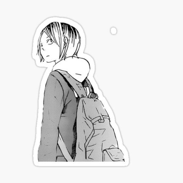 Kenma Haikyuu Manga Sticker  Sticker
