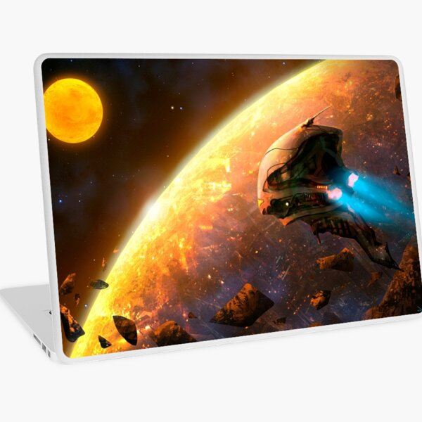 Red Planet Laptop Skin
