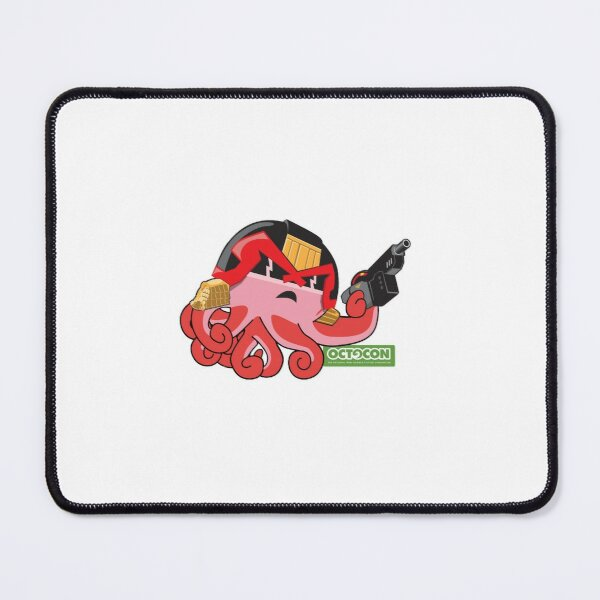 Judge Octo Mouse Pad