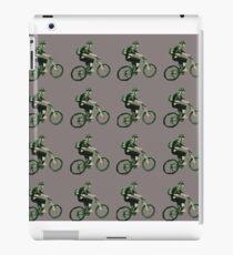 Mountain Biking  iPad Case/Skin