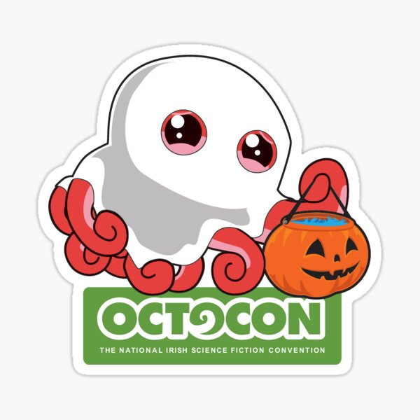Spocto (Spooky Octo) Sticker